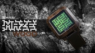 Unique Wood Watch: Kisai Maze Wood From Tokyoflash Japan