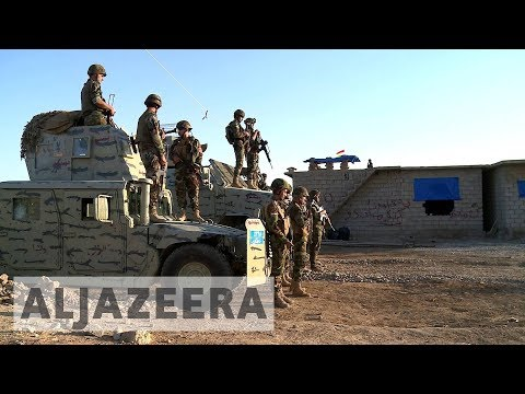 Kurds on high alert as Iraqi forces mass near Kirkuk