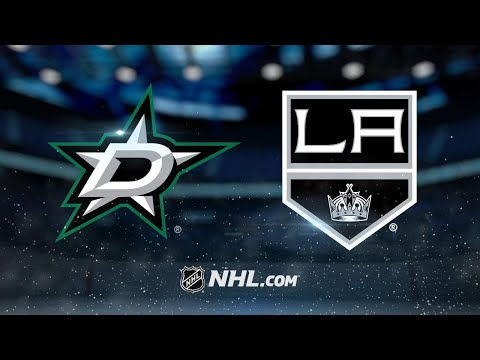 Benn's natural hat trick leads Stars past Kings, 4-2