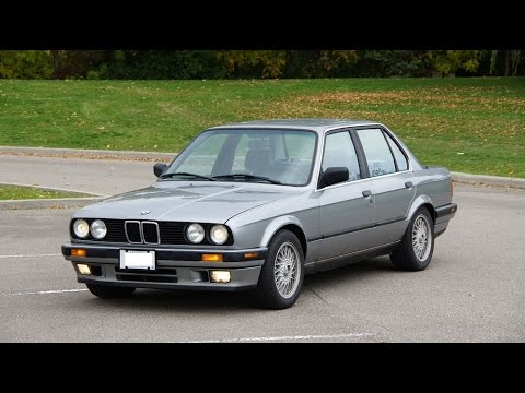 1989 BMW 325i Review E30  YouTube