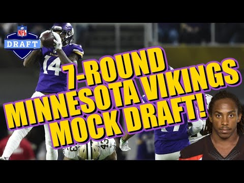 MASSIVE Vikings Reload In This 7-Round Mock Draft!