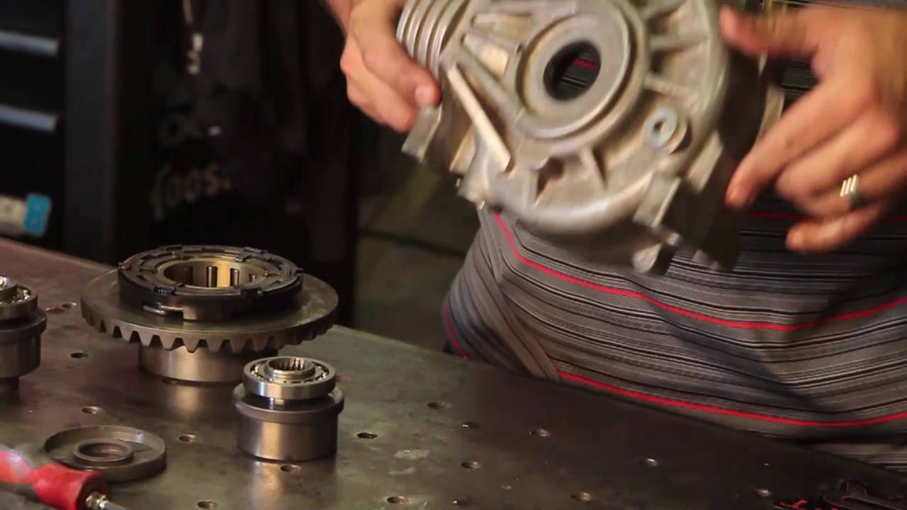 Rzr 1000 Front Diff Race Bearing Kit Installation Youtube