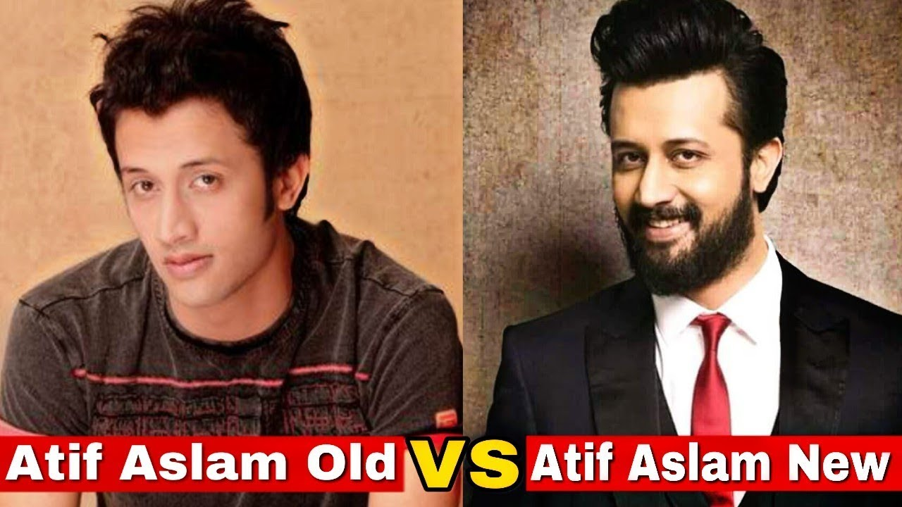 new vs old - atif aslam | atif aslam then and now ( live edition )