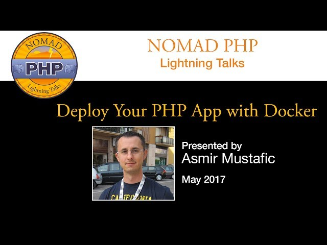 Deploy Your PHP App with Docker