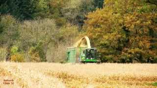 Maize Harvest, 2012. - What a Crop!  John Deere Action.