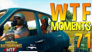 PUBG WTF Funny Moments Highlights Ep 71 (playerunknown's battlegrounds Plays)