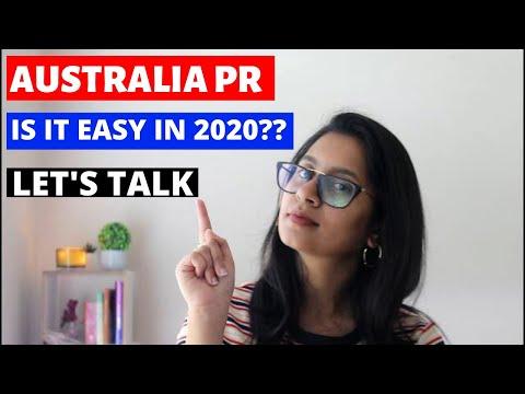 IS IT EASY TO GET AUSTRALIAN PR IN 2020?