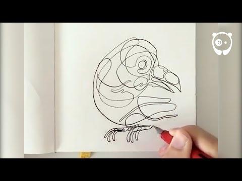 1 stroke drawings