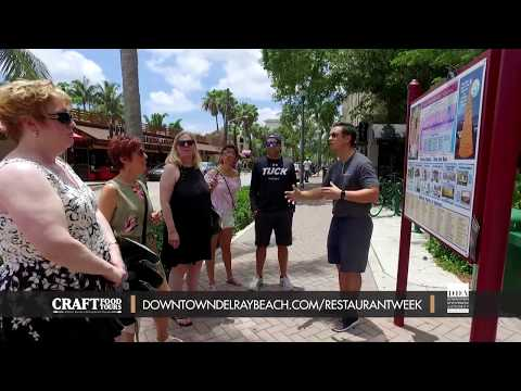 Dine Out Downtown Delray Restaurant Week 2018: Craft Food Tours