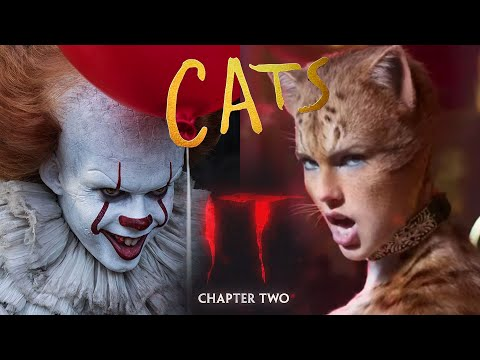 Cats trailer with music/sound from It Chapter 2 trailer