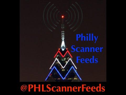 SCANNER AUDIO - Vehicle & Foot Pursuit, Philadelphia, SEPTA, Norwood Police