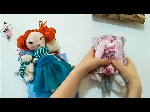 Кукла для души и для девочек с набором одежды от El Boneca ростом 25 см