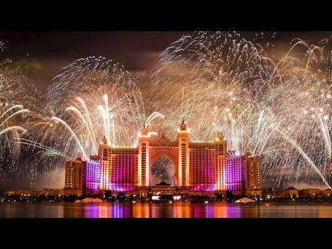 Dubai New Year's Fireworks 2021