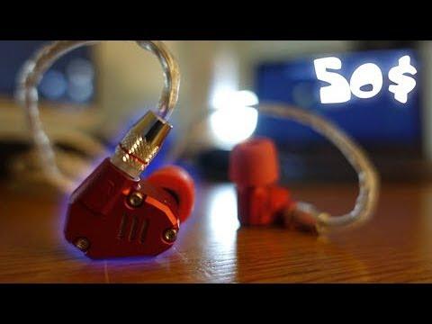 KZ ZS6 In Depth Review // best headphones under 50 dollars??