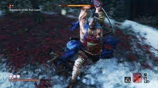 Sekiro Shadows Die Twice - Shigekichi of the Red Guard Boss Fight