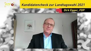 Landtagskandidaten-Kurzcheck: Dirk Egger, FDP