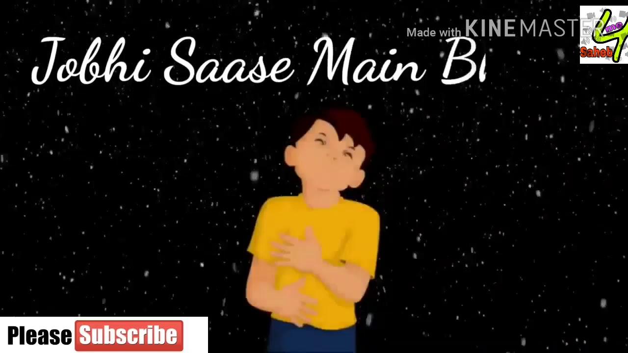 Sad whatsapp video status song hindi with lyrics ...
