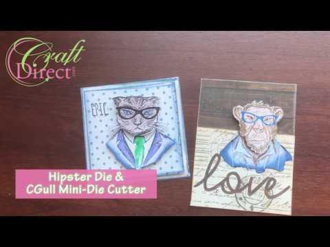 Tim Holtz Hipster Tutorial Video – CraftDirect