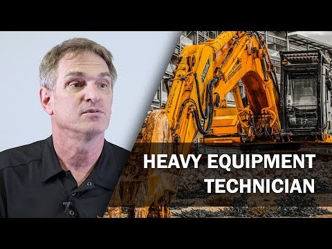 Job Talks - Heavy Equipment Technician - Tom is Most Passionate About his Trade!