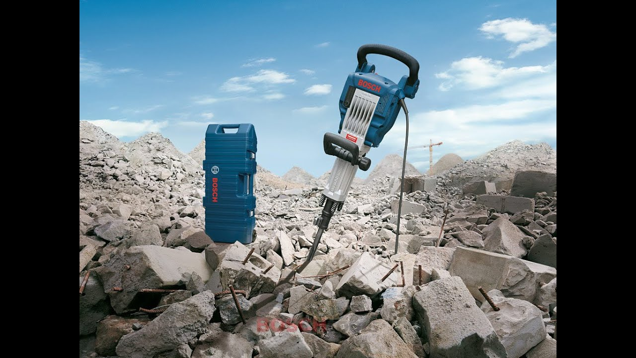 Electric Blue Wallpaper Hd Bosch Blue Professional Power Tools Gsh 16 30 Demolition