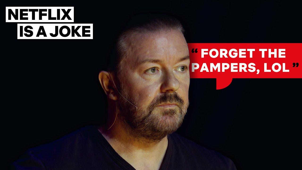 Ricky Gervais Gives 3 Legit Reasons for Not Having Kids | Netflix Is A Joke