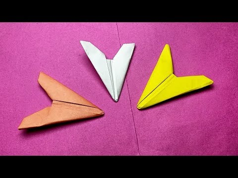How to make a paper ninja flicker | Origami flying arrowhead