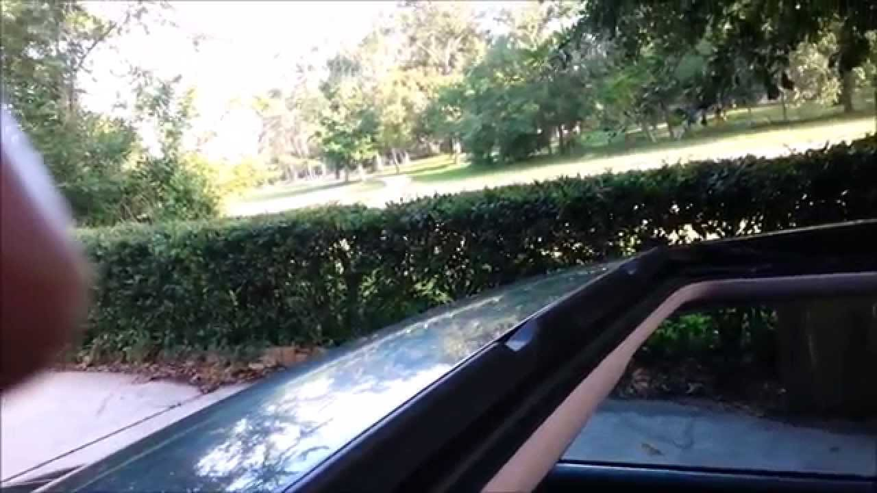 Audi A8 Vw Sunroof Drain Clean How To Youtube