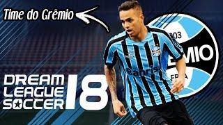 Time do Grêmio para Dream League Soccer 2018