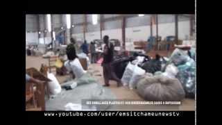 CAMEROUN: EMBALLAGES PLASTIQUES NON BIODEGRADABLES SAISIS A BAFOUSSAM