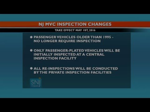 Changes are Coming to New Jersey's Motor Vehicle Inspections