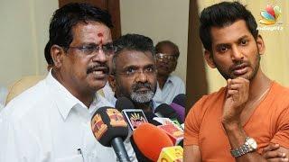 Vishal should apologize: Tamil Film Producers Council in Court   Kalaipuli s. thanu Latest News