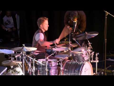 Karl Brazil at the Mick Yates Memorial Drum Festival 2010