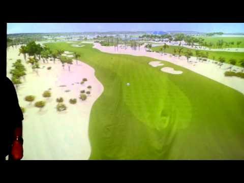 Golfer's Edge - Indoor Golf at the Leela Palace Bangalore