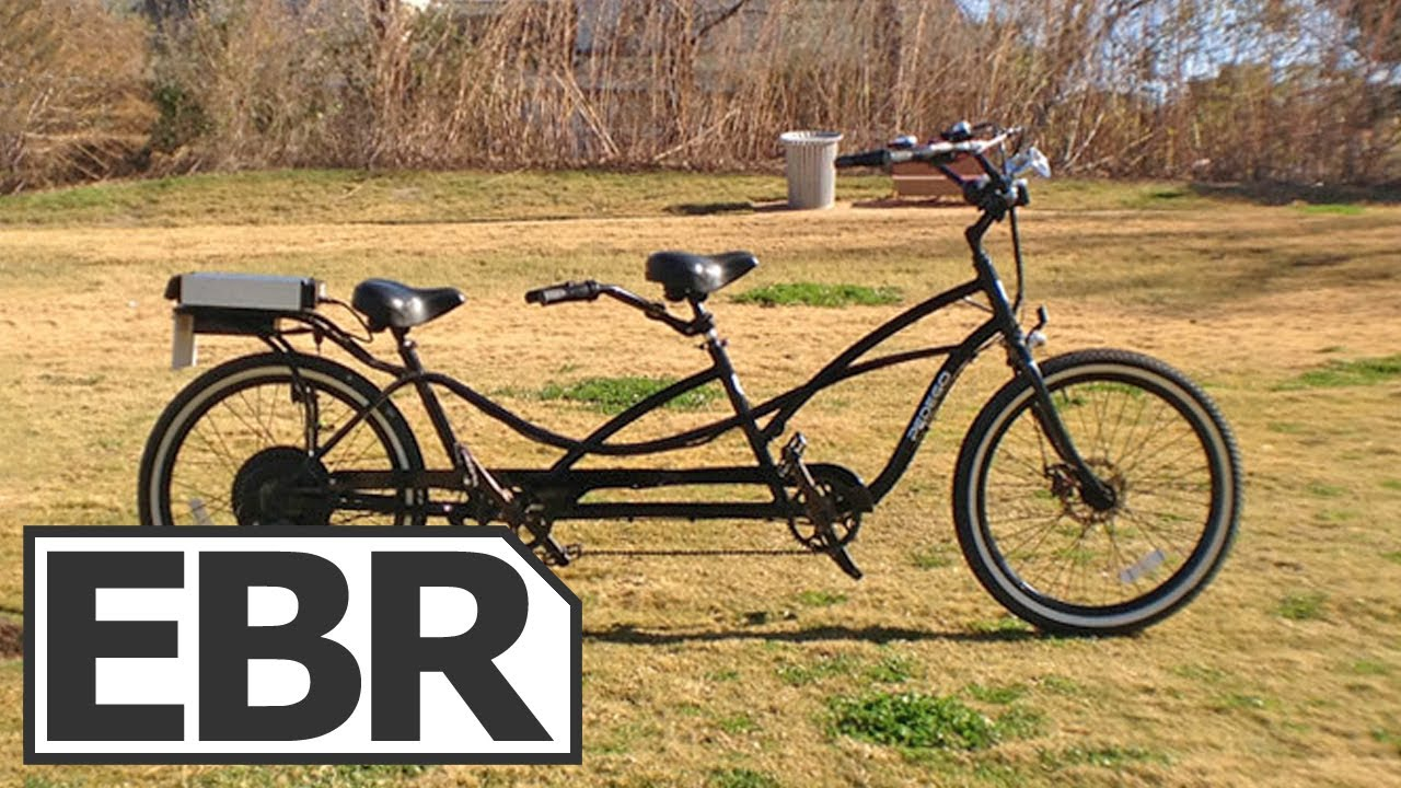 2013 Pedego Tandem Cruiser Electric Bike Review Youtube