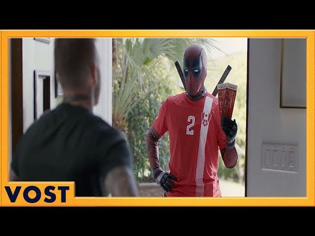 DEADPOOL 2 | Beckham vs Deadpool : La rencontre au sommet | VOST HD | 2018