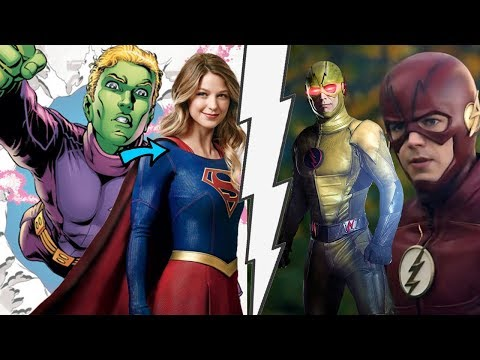 Barry To Reveal Identity And New Supergirl Love Interest The Flash 4x10 And Supergirl 3x10 Synopsis