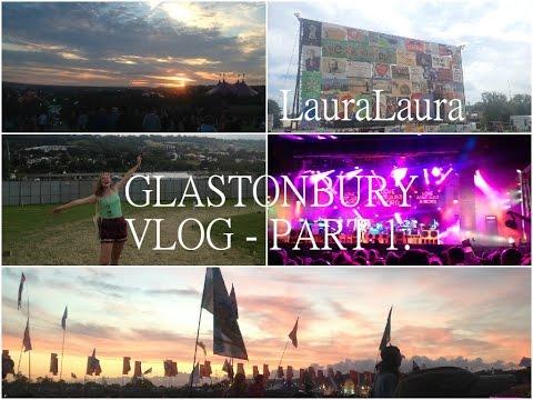 Glastonbury Vlog Part 1- Rudimental, Mark Ronson, James Bay | LauraLaura