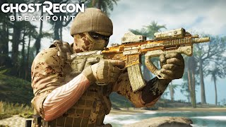 THE BIG BROWN ASSAULT SMG in Ghost Recon Breakpoint Free Roam