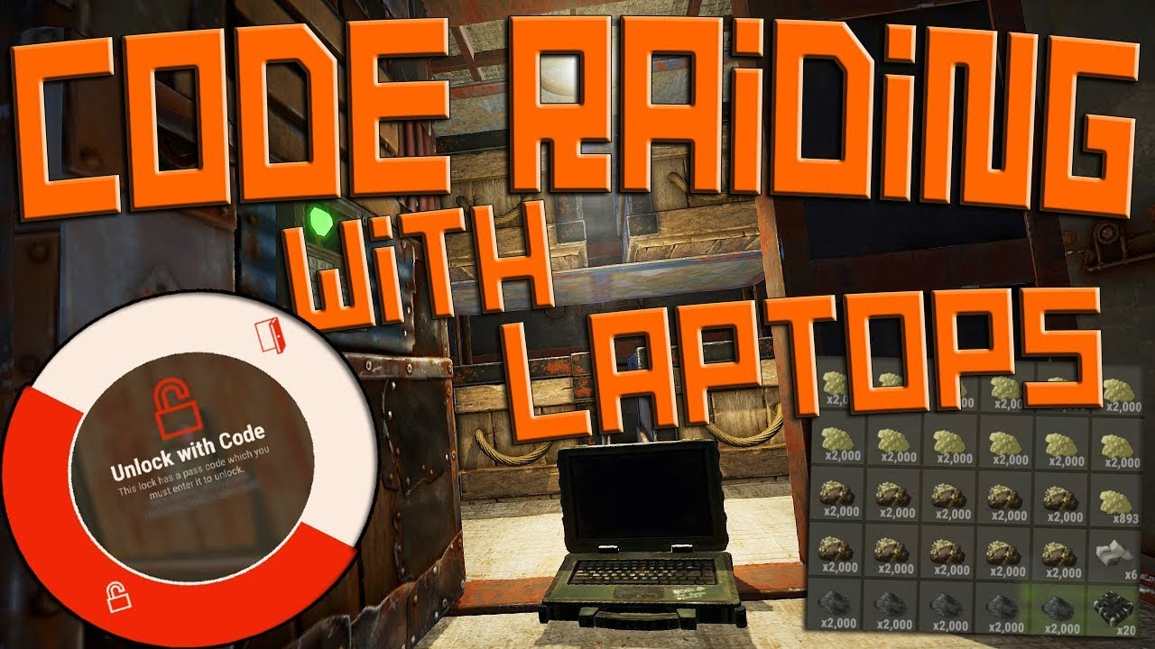 CODE RAIDING THE RICHEST CLAN ON THE SERVER WITH LAPTOPS! - Rust