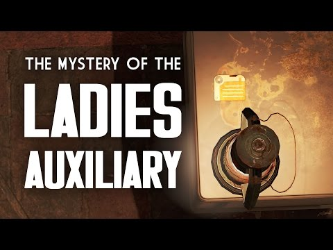 The Mystery of the Ladies Auxiliary Holotapes - What Went On Here? - Fallout 4 Lore