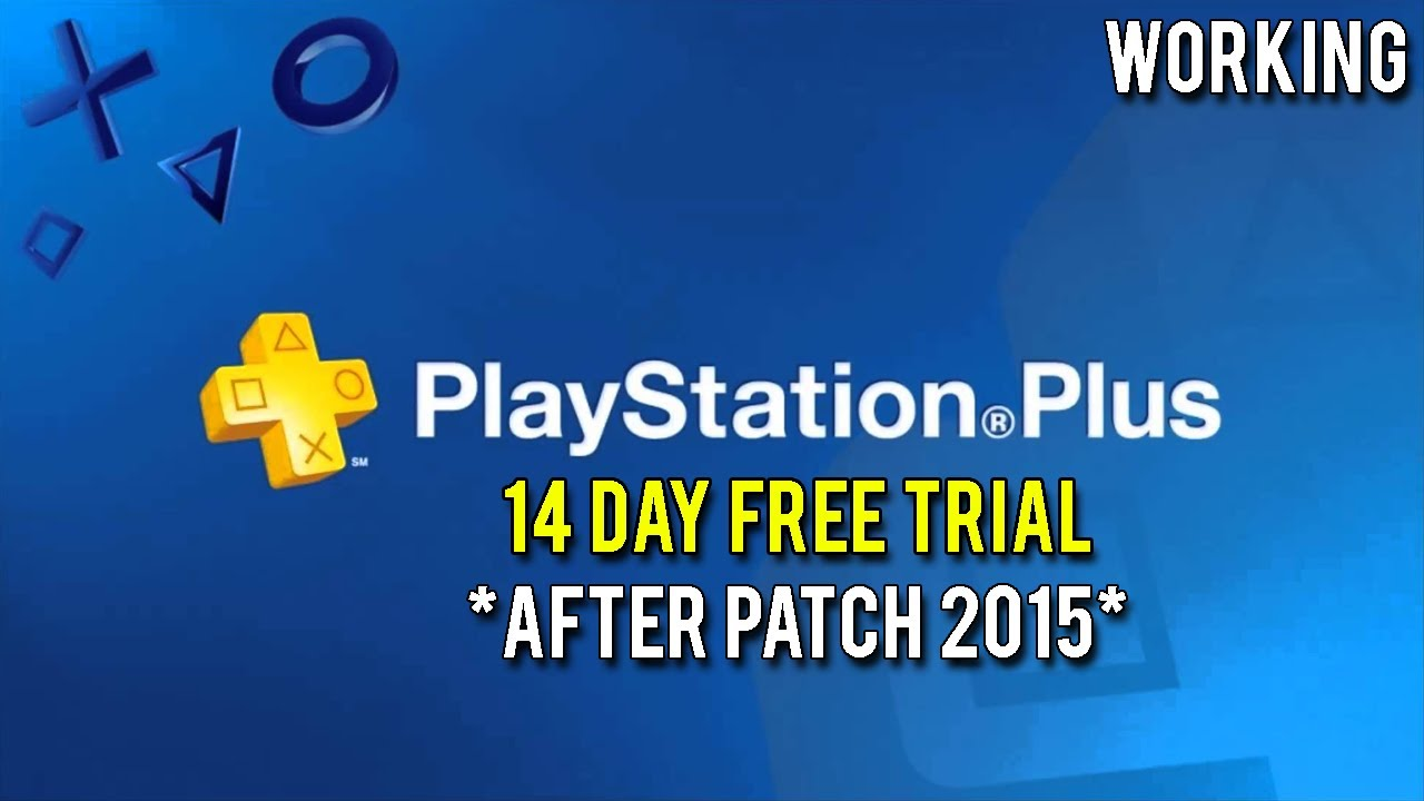 How To Get Free Playstation Plus-14 Day Trial Everytime! (2015 ...