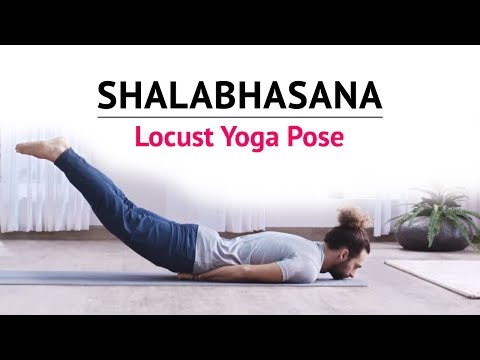 Shalabhasana | Locust Yoga Pose | Steps | Benefits | Yogic Fitness