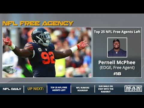 Download Youtube: NFL Free Agency: Top 25 Free Agents Left Unsigned Featuring Ndamukong Suh, Eric Reid, NaVorro Bowman