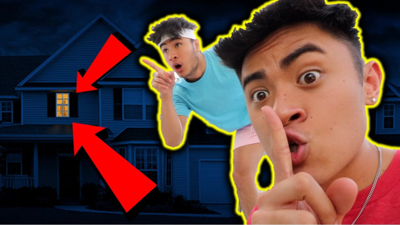 SNEAKING into MoreJStu's NEW HOUSE!