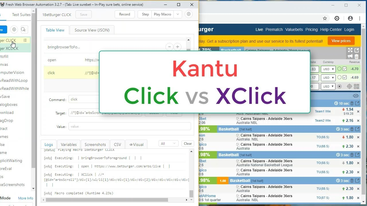XClick and XMove - Real User Mouse Click Event Simulation, Robotic
