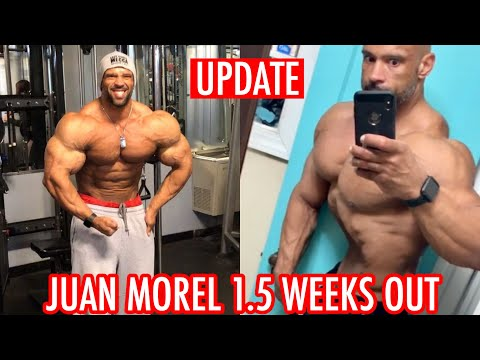 Juan Morel 1.5 Weeks Out Arnold Classic South America!! CRAZY VACUUM
