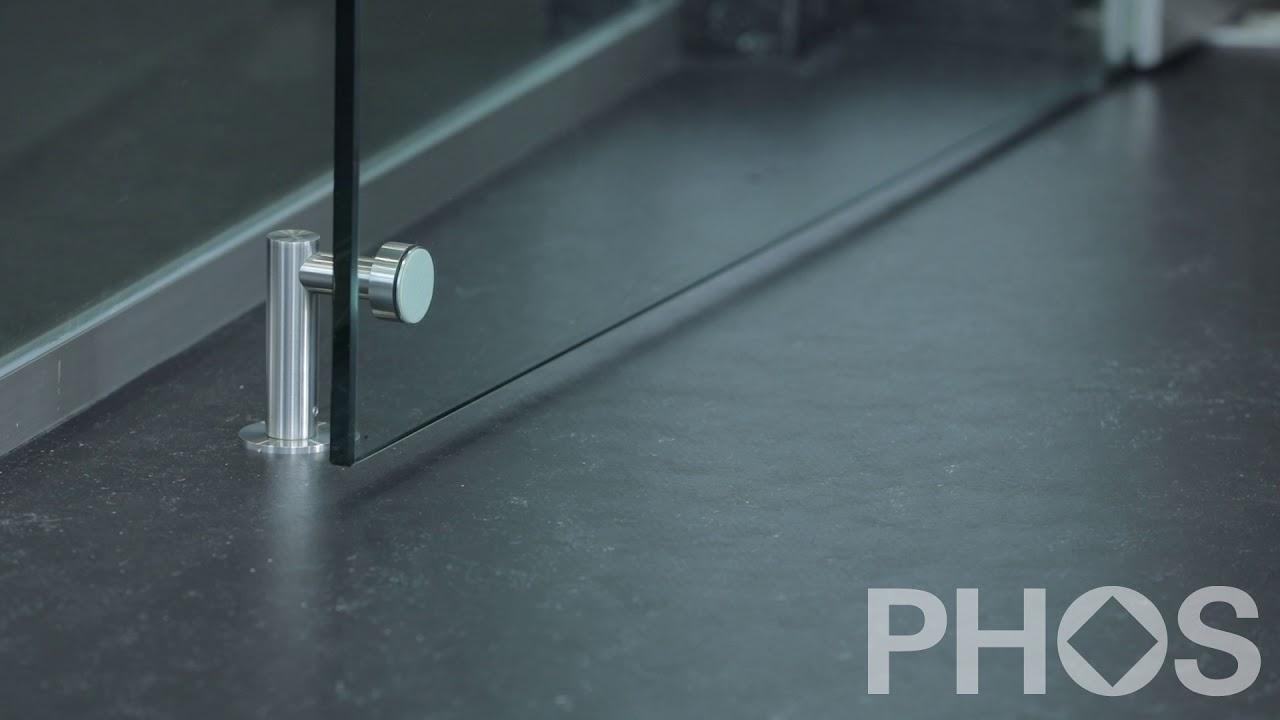 Phos Design phos design türfeststeller magnet l-form tfm20-77 - youtube