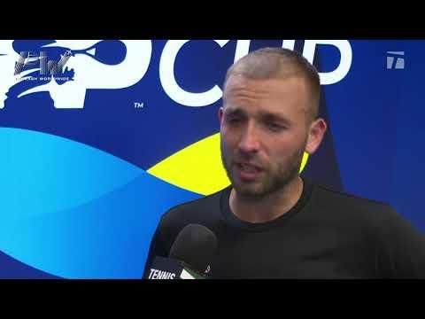 Dan Evans: 2020 ATP Cup Round Robin Win Tennis Channel Interview
