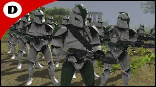 COMMANDER GREE HUNTS GENERAL GRIEVOUS - Men of War: Star Wars Mod