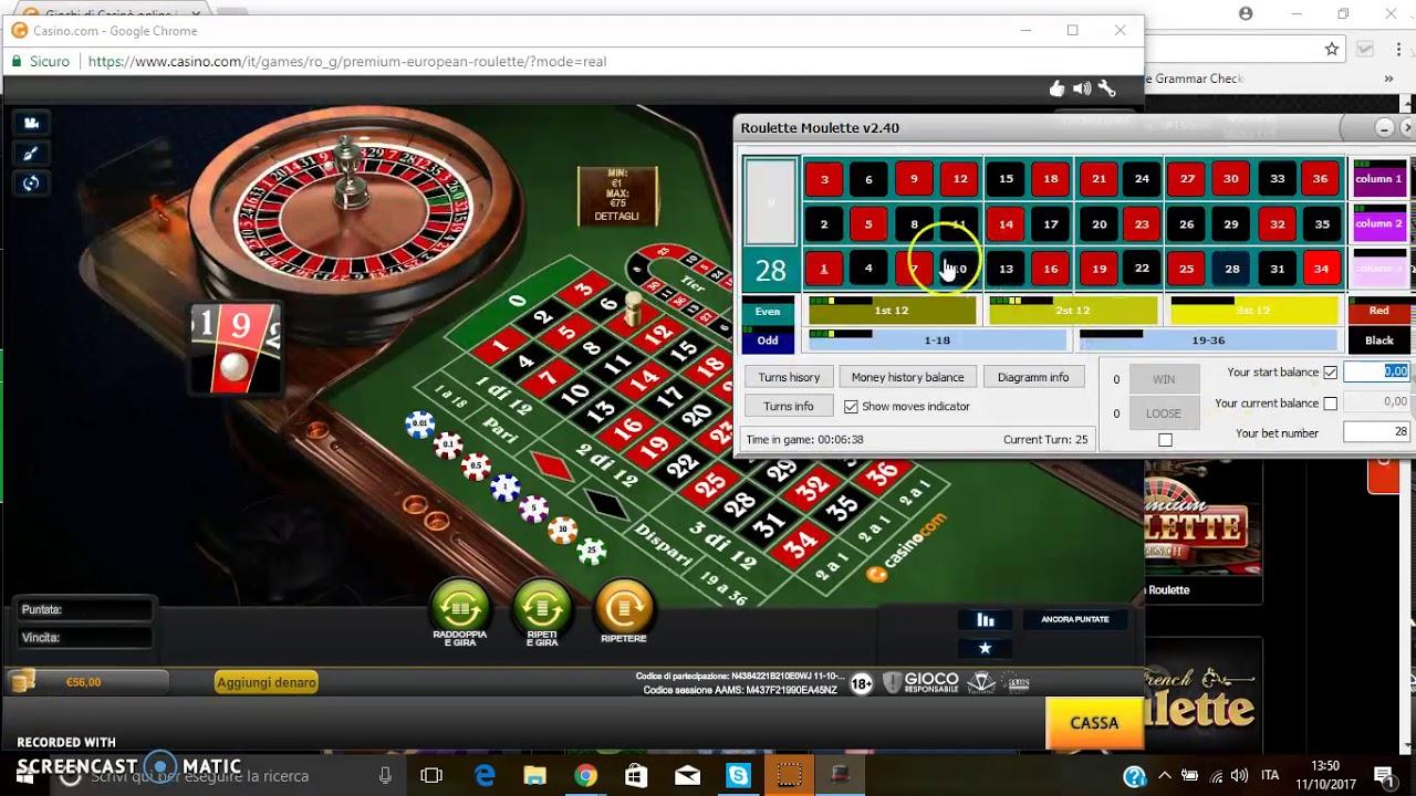 Guadagnare alla roulette online